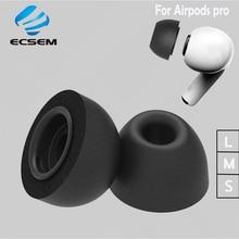 Memory Foam Ear Tips Voor Apple Airpods Pro Vervanging Oortelefoon Oordopjes Voor Airpods Pro Oordopjes