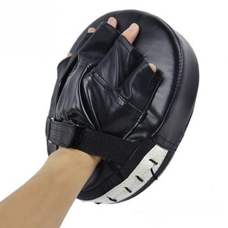 Foot Target Training Gloves PU Boxing Mitts Training Target Focus Punch Pads And Karate Kicking Gloves Black