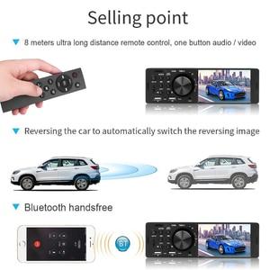 Image 4 - Kebidumei 4.1 polegada 12 v bluetooth rádio do carro autoradio 1din tela de toque estéreo do carro fm aux em 1 din carro mp3 player multimídia