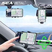Soporte de teléfono para coche, soporte de rotación de 720 grados, Universal, tarjeta de aparcamiento de coche con soporte para móvil, productos Automotrices