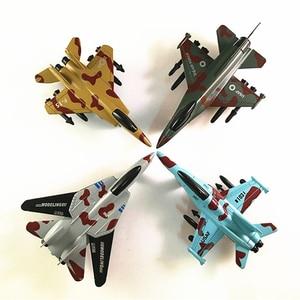 Liga de aeronaves modelo crianças brinquedos militar lutador modelo de brinquedo realista warplane crianças lutador puxar para trás avião presentes