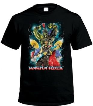 Thor Ragnarok Inspired T-Shirt Ragna Rock Band Mens Comedy T-Shirts Harajuku Men Tops TEE Shirt