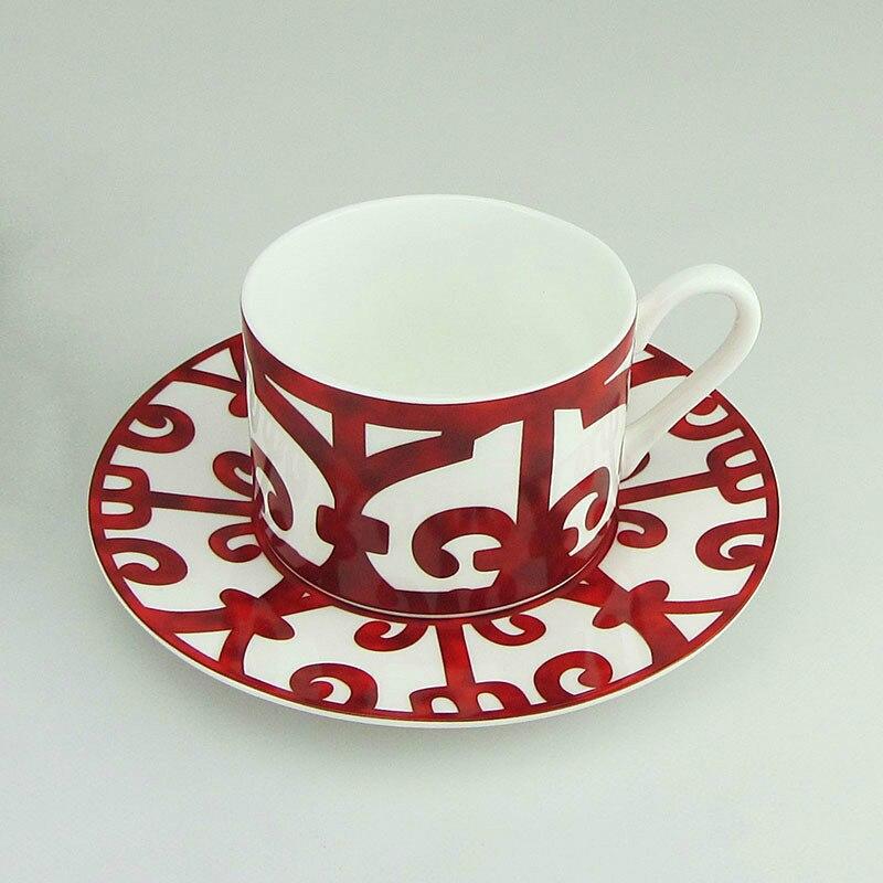 Set de tazas de café de cerámica plato de cocina vajilla hueso China vajilla plato restaurante plato de carne taza de té