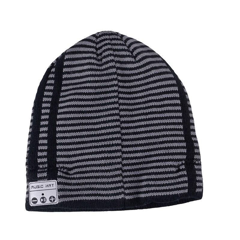 Bluetooth4.2 Misic Hat Wireless Bluetooth Headset Hat Knitted Cap Headphone Warm Winter Hats Music Earphone Best Gift