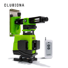Clubiona IE16 German laser module Floor and Ceiling Powerful Green Lines Remote control Laser Level With Li-ion battery