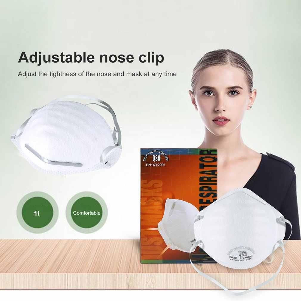 Противотуманная оголовье FFP2 круглая маска Пылезащитная маска против гриппа Pm2.5 велосипедная дропшиппинг маска Лидер продаж