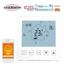 Лучистое Напольное отопление Wi-Fi термостат с сенсорным управлением для Bolier Отопление/клапан радиатора/электрическое тепло