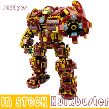 Marvel Iron man Hulkbuster War Machine Building Blocks Super Heroes Avengers Infinity War Superheroes Children Kids Toys Gifts