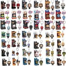FUNKO POP брелок с героями Marvel официальный форки супер герой Халк Гоку Рик Добби аниме персонажи фигурка Коллекционная модель игрушки с коробкой