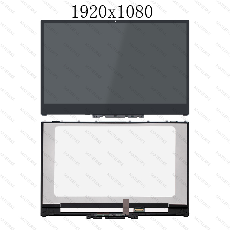 Image 2 - LCD Touch Screen Assembly With Frame For Lenovo Yoga 720 15IKB P/N 5D10N24288 5D10N24289 5D10M42865 5D10M42865-in Laptop LCD Screen from Computer & Office