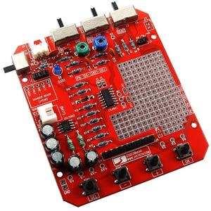 Image 2 - JYE Tech DSO138 Mini Digital Oscilloscope DIY Kit SMD Parts Pre soldered Electronic Learning Set 1MSa/s Transparent Case