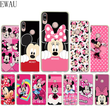EWAU Mickey Minnie Mouse Silicone Mattle phone case for Huawei P8 P9 P10 P20 P30 Lite Mine Pro P Smart Z Plus