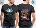 Новая футболка с принтом Санта-Моника авиакомпании Sma Natas Kaupas