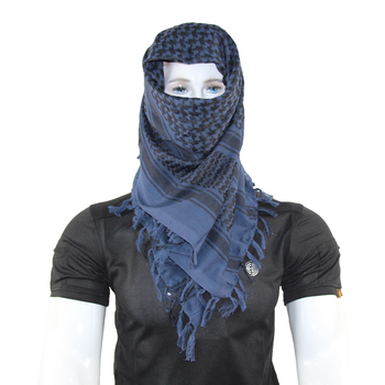 New Black Military Winter Shemagh Tactical Scarf 100% Cotton Keffiyeh Scarf Wrap Outdoor Hiking Hunting Windproof Sacrves aa shield camo tactical scarf outdoor military neckerchief forest hunting army kaffiyeh scarf light weight shemagh woodland
