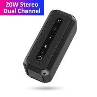 20W Dual Channel Stereo Speaker Boombox Bluetooth Wireless Shock Bass w/ Line In Caixa de Som колонка bluetooth