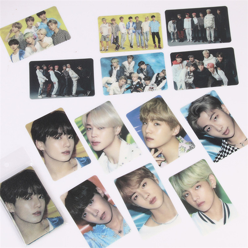KPOP 13 Pcs/set  Bangtan Boys LOMO Card Photocard Map Of The Soul Persona JIMIN JIN SUGA JUNG KOOK Stationery Fans Collection