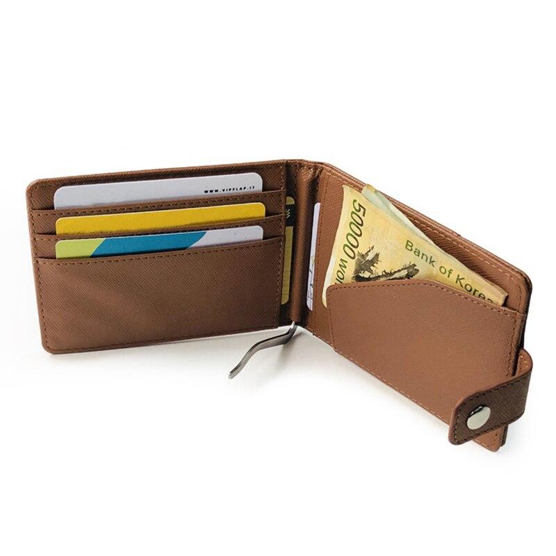 Purse Card-Bag-Holder Short Foldable Wallet-Opk ID Multi-Layer