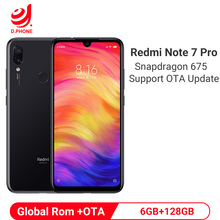 Xiaomi Redmi Note 7 Pro 6GB 128GB Smartphone Snapdragon 675 Octa Core 4000mAh 18W Quick Charger 48MP