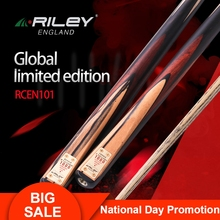 New Arrival RILEY Snooker Stick Cue RCENT-101 9.5mm One Piece Ashwood Limit 1000 In Memory of Ronnie OSullivan 2019