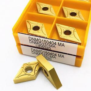 Image 5 - Твердосплавная вставка DNMG150404 MA VP15TF UE6020 US735, режущий инструмент, высококачественный токарный инструмент с ЧПУ DNMG 150404, фрезерный токарный инструмент, 10 шт.
