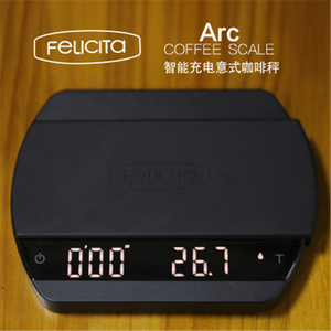 Электронные смарт-весы Felicita Arc Coffee с Bluetooth, 2 кг/0,1 кг