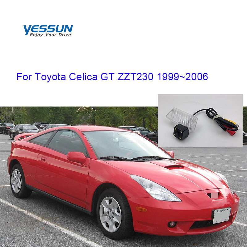 Yessun License Plate Camera For Toyota Celica GT ZZT230 2000~2006 Car Rear View Camera Parking Assistance