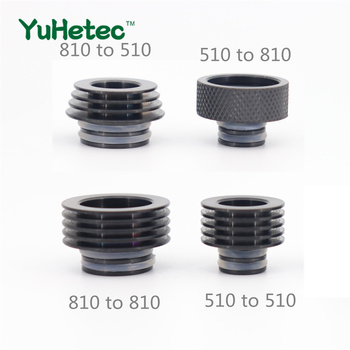 1PCS YUHETEC 510 to 810 / 810 to 510 / 510 to 510 / 810 to 810 Drip Tip Adapter marcrown marcrown 510