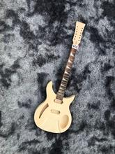 DIY(Unfinished) 12 Saiten E-gitarre Tiger Ahorn Top Ohne Hardwares Freies Verschiffen # Q316 cheap CN (Herkunft)