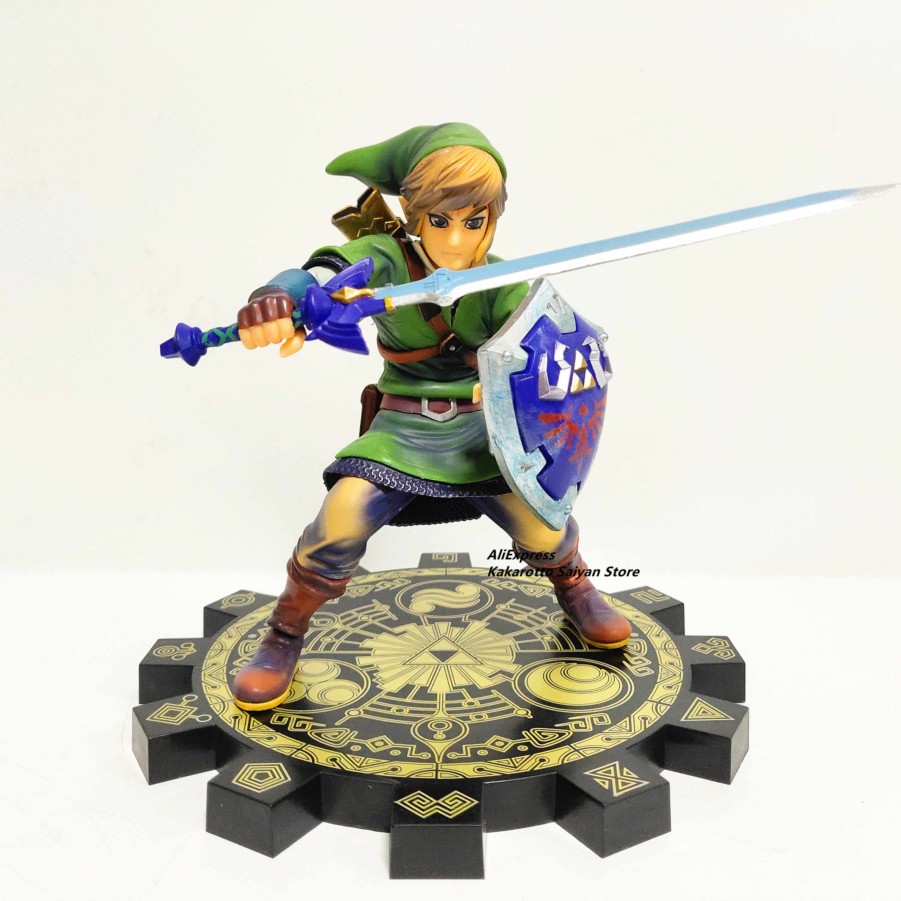 (Op Voorraad) zelda Skyward Sword Pvc Action Figure 1/7 Anime Game Toy Zelda Link Beeldje Collectible Model Toy