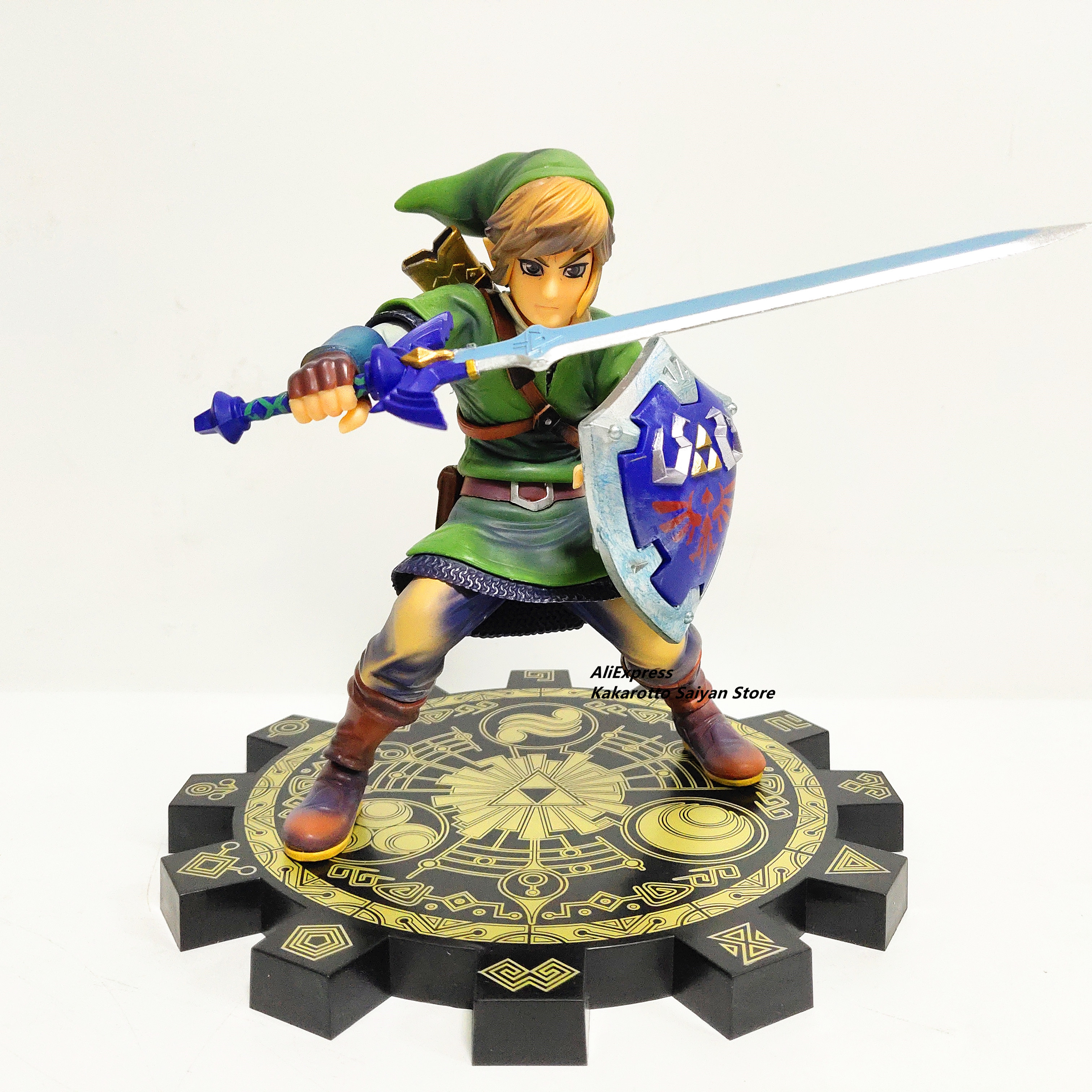 Zelda Skyward Sword PVC Action Figure 1/7 Anime Game Toy Zelda Link Figurine Collectible Model Toy
