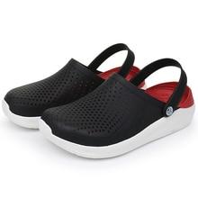 2020 Basic Crocks Men's Sandals Unisex Plus Size 36-46 Croc Clogs Boys Beach Cro