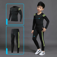 2020 Boys Winter Thermal Underwear Sets Children Anti-microbial Stretch Kids Thermo Underwear Boy Warm Clothing Long pants Johns