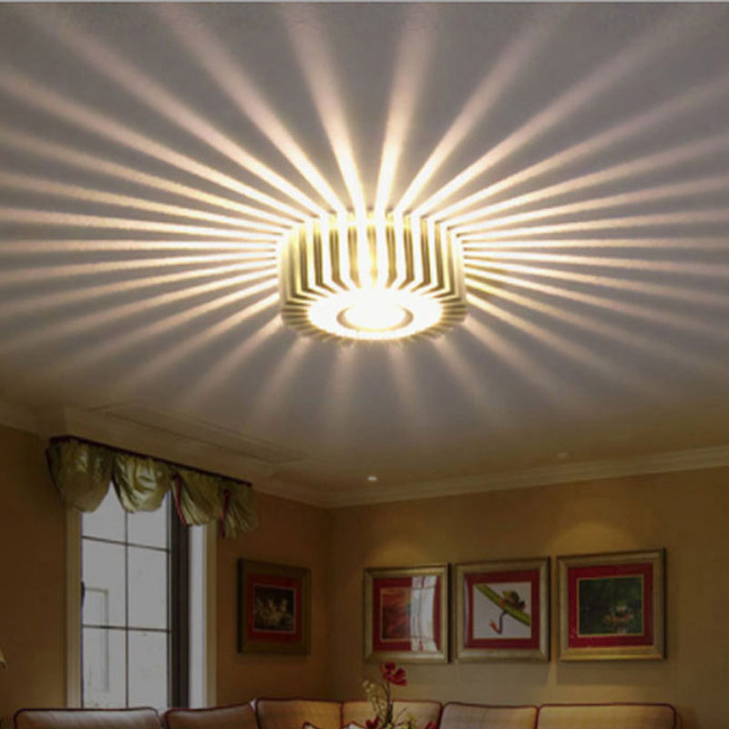 Modern LED Ceiling Light 7W 10W 15W Wall Sconce Art Gallery Decoration Front Balcony Lamp Porch Light Corridors Light Fixture