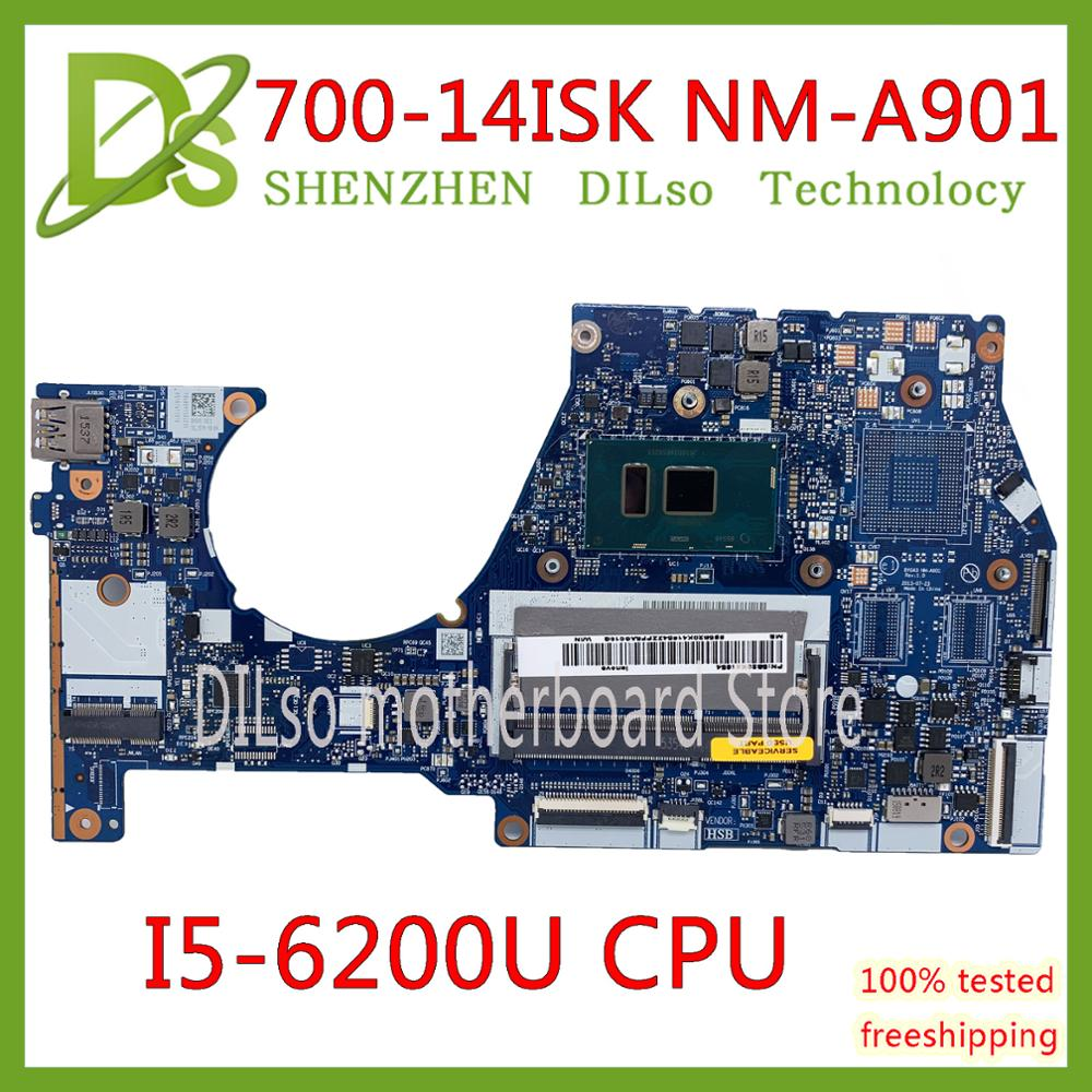KEFU NM-A601 Lenovo Yoga 700-14ISK laptop motherboard With I5-6200U CPU FRU:5B20K41654 original 100% tested image