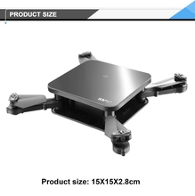 RC wifi drone portable folding mini with HD camera RC aircraft quadcopter