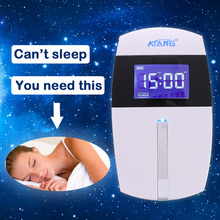 ATANG Brand New shock wave therapy equipment CES brain stimulation Insomnia Treatment Device of the best quality therapy insomnia anxiety ces cranial electrical stimulation fall asleep easier sleep aid device home office portable physical