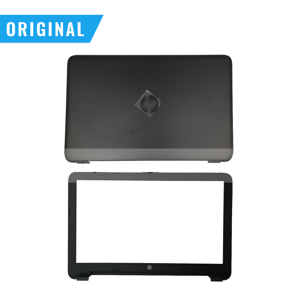 New Original For HP 15-AC 15-AF 15-AJ 250 255 256 G4 LCD Back Cover Bezel Palmrest Cover Hinges 813925-001