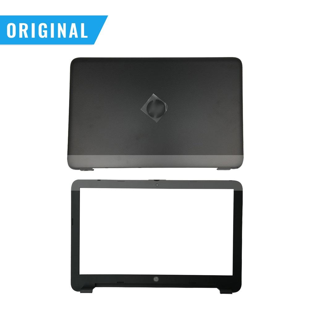 New Original For HP 15-AC 15-AF 15-AJ 250 255 256 G4 LCD Back Cover Bezel Palmrest Cover Hinges 813925-001