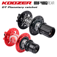 2019 KOOZER MF480 Front Rear Hub Set 2/4 Bearing 24T Ratchet 32 Holes Quick Release Thru Axle Mountain Bike Hubs For 8 9 10 11S