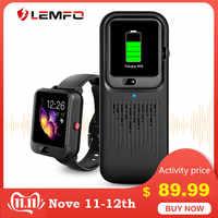 LEMFO LEM11 4G inteligentny zegarek mężczyźni kobiety Android 7.1 3G RAM 32G ROM LTE 4G Sim kamera GPS WIFI inteligentny zegarek z funkcją pomiaru rytmu serca z Power bankiem