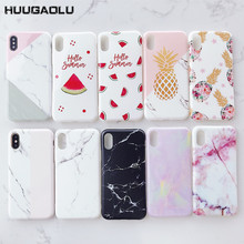 For iPhone 6 S 6S 7 8 Plus Fundas Etui Cases Luxury Silicon Phone Case Soft TPU Cover Case For iPhone X XS MAX XR 7plus Coque(China)