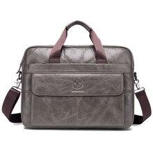 Винтажный Мужской брендовый портфель из натуральной кожи 14 дюймов, сумка-мессенджер для ноутбука, деловая сумка, Офисная сумка через плечо, сумки на плечо, мужские сумки, ts