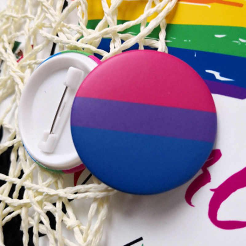 Nieuwe Transgender Pride Regenboog Gay Intersex Aseksuele Pride reversspeldjes Liefde is Biseksuele Pansexual pins panromantic tin badge