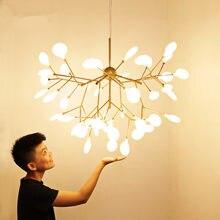Plafonnier LED suspendu en forme de branches d'arbre, design art déco, éclairage d'intérieur, luminaire décoratif de plafond, idéal pour une cuisine, un bar ou un restaurant