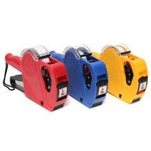 KIWARM MX-5500 EOS 8 цифр ценник бумажный ярлык G un+ 5000 этикетки+ 1 шт чернила для розничного магазина ценник тег дисплей инструмент