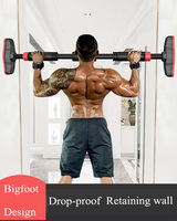 Door Horizontal Bars Steel 500kg Home Gym Workout Chin push Up Pull Up Training Bar Sport Fitness Sit ups Equipments Heavy Duty