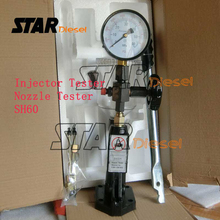 SH60 Injector Test and Diesel Injector Test Calibrating, Pump Injector Calibration S0098 and Piezo Injector Nozzle Tester