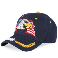 купить Baseball Cap USA Flag Men Women Eagle Snapback Dad Hats Bone Outdoor Casual Sun Golf Hat Egle Trucker Caps Army Tactical Gorras дешево
