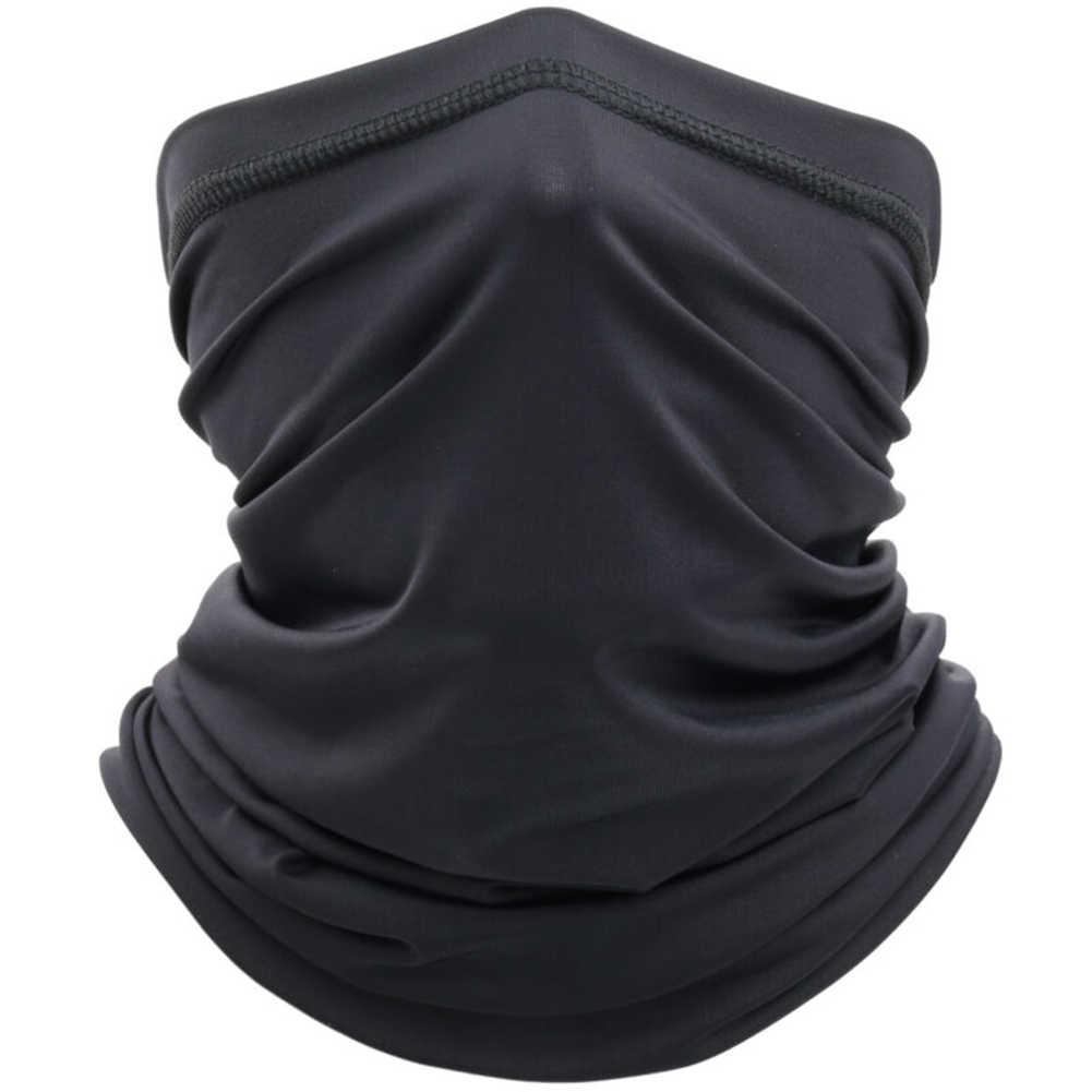 Eis Seide Lüften Sommer Sonne Block Schild Neck Rohr Motorrad Schal Im Freien Sommer Kühlen Schal Gesicht Maske