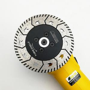 """Image 4 - SHDIATOOL 1pc 115mm or 125mm Diamond Cutting Grindng Disc Dia 4.5"""" or 5"""" Dual Saw Blade Cut Grind Sharpen Granite Marble blades"""